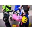 Pocket Trailer kismotor/futóbicikli hordozó - szürke-zöld (fényvisszaverő nélkül)