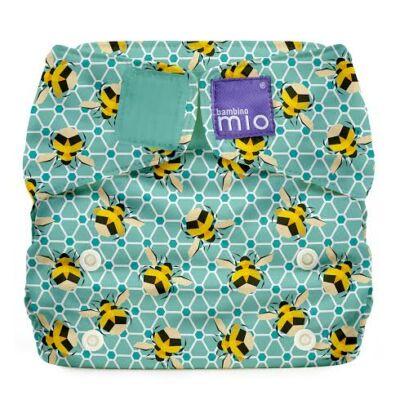 Miosolo AIO egyméretes mosható pelenka (méhecskés)