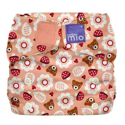 Miosolo AIO egyméretes mosható pelenka (rózsaszín macis)