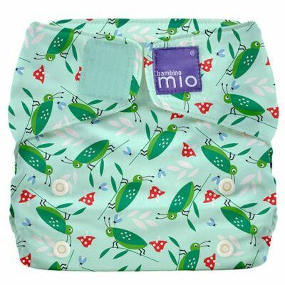 Miosolo AIO egyméretes mosható pelenka (szöcskés)