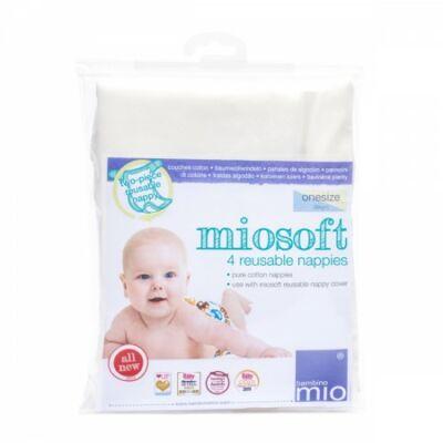 Bambino Mio Miosoft 100% pamut prefold pelenka (4 db/csomag)