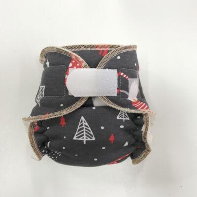 Bambi Roxy újszülött bambusz mosható pelenka belső - manós tépős (3-10 kg)
