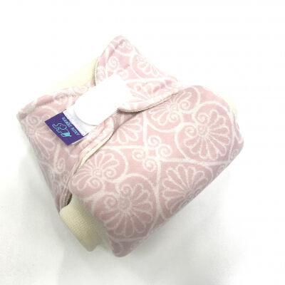 Bambi Roxy bio merinó gyapjú egyméretes pelenka külső (kb 5-16 kg) rózsaszín mandala tépős