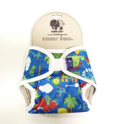 Bambi Roxy újszülött mosható pelenka külső (3,5-8 kg) - afrika