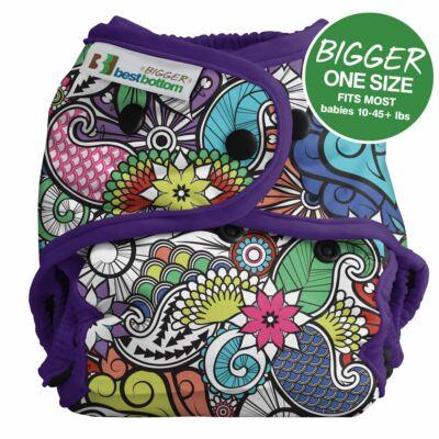 Best Bottom egyméretes Bigger mosható pelenka külső