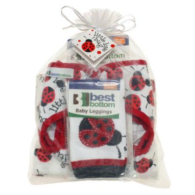 Best Bottom mosható pelenka ajándék csomag - katicás