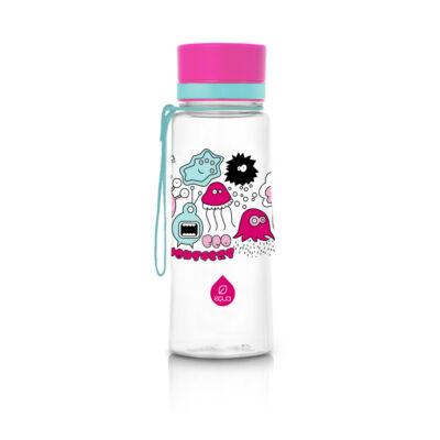 Equa kulacs -  pink szörnyecskés 400 ml