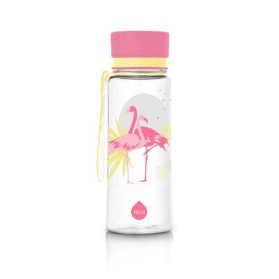 Equa kulacs - flamingós 600 ml