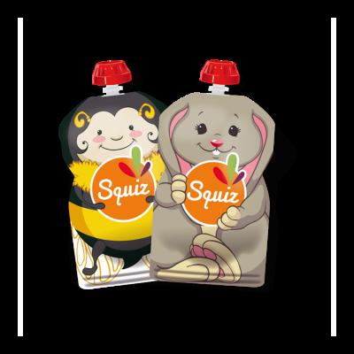 SQUIZ újratölthető ételtasak (2 db/csomag)