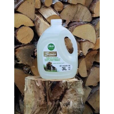 Savon Zöld Érzés folyékony mosószer zsíroldó mosószappannal (3 literes)