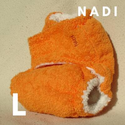 Nadi L-es pamut frottír mosható pelenka belső (10-16 kg) narancs