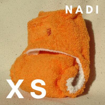 Nadi XS-es pamut frottír mosható pelenka belső (3-6 kg) narancs