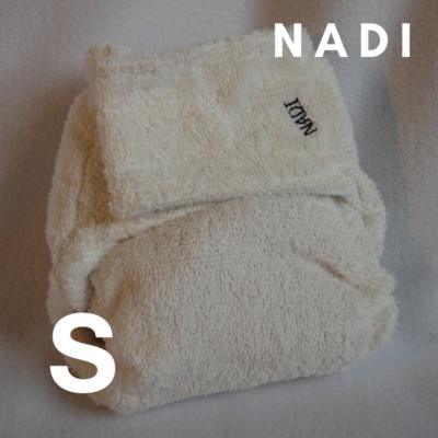 Nadi S-es pamut frottír mosható pelenka belső (5-9 kg) fehér