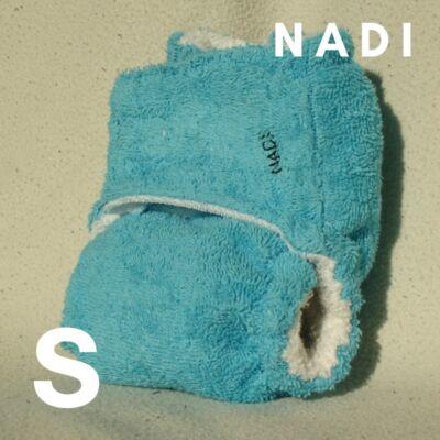 Nadi S-es pamut frottír mosható pelenka belső (5-9 kg) türkiz