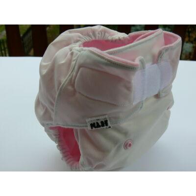 Nadi polár ZSEBES egyméretes mosható pelenka betéttel (rózsaszín)