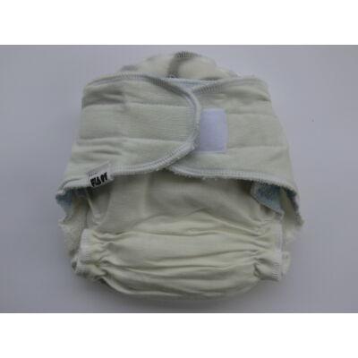 Nadi S-es dekor vásznas mosható pelenka belső (5-9 kg) fehér-kék