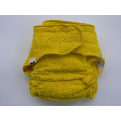Nadi L-es pamut frottír mosható pelenka belső (11-16 kg) sárga