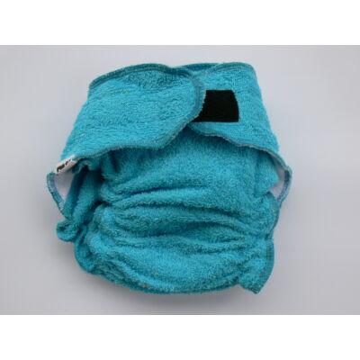 Nadi L-es pamut frottír mosható pelenka belső (11-16 kg) kék