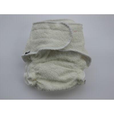 Nadi L-es pamut frottír mosható pelenka belső (11-16 kg) fehér