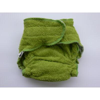 Nadi M-es pamut frottír mosható pelenka belső (7-13 kg) zöld
