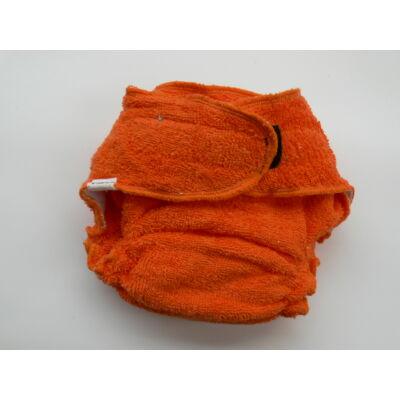 Nadi M-es pamut frottír mosható pelenka belső (7-13 kg) narancs