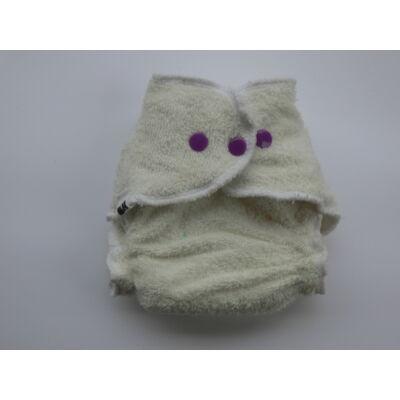 Nadi XS-es pamut frottír mosható pelenka belső (3-6 kg) fehér