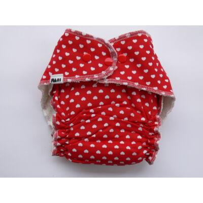 Nadi L-es dekor vásznas mosható pelenka belső (11-16 kg) szíves