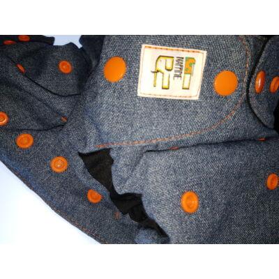 NappiMe egyméretes gyapjú mosható pelenka KÜLSŐ (jeans)