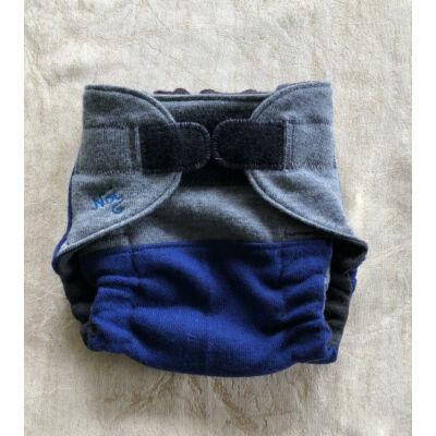 Tépőzáras Noi merino gyapjú pelenka külső (kb.6-16 kg) -kék