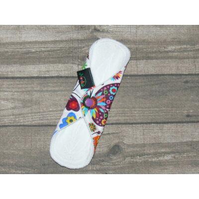Norka női mosható tisztasági  betét  PUL-al 20 cm-es (pillangós)