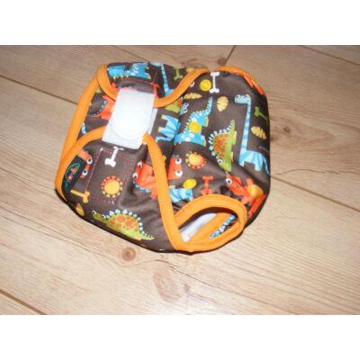 NORKA limitált mintájú mosható pelenka külső (3-9 kg) - dínós