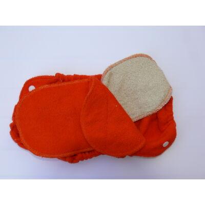 Norka pamut frottír betétrendszer Norka pelenka külsőhöz (narancssárga)