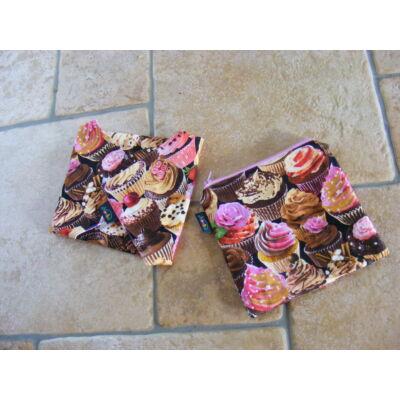 NORKA  mosható szalvéta és csemegés tasak maxi szett - muffinos