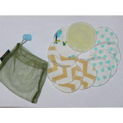 NORKA mosható arctisztító korong/intimkehely alátét szett (pamut plüss)