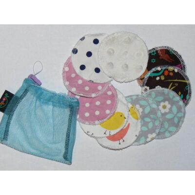 NORKA mosható arctisztító korong/intimkehely alátét szett (mikroszálas)