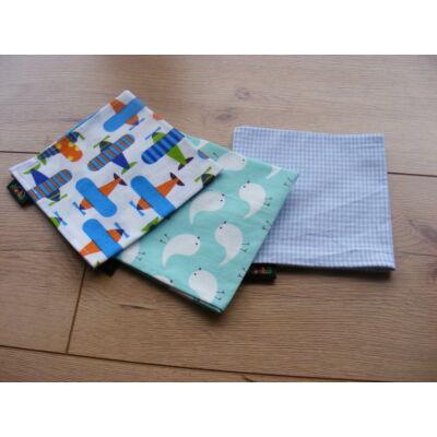 Norka 100% pamut textil zsebkendő gyerekeknek (repülős)