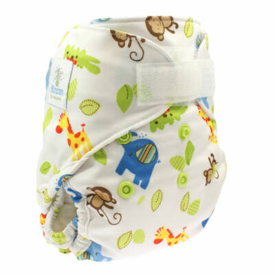 Blümchen újszülött mosható pelenka külső kb. 3-7 kg (állatos)