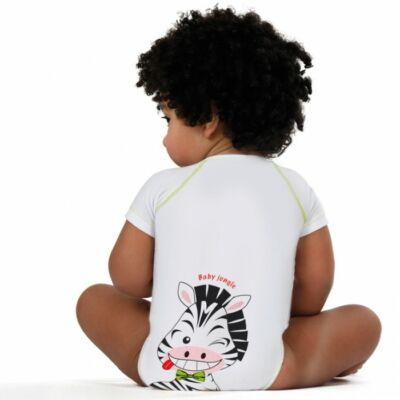 JBIMBI négy évszakos, egyméretes gyermek body - zebrás