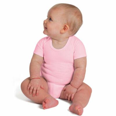 JBIMBI négy évszakos, egyméretes gyermek body - egyszínű rózsaszín
