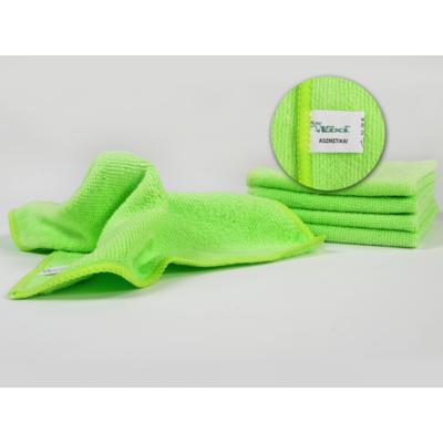 VIXI kozmetikai kendő almazöld színben (25x25cm)