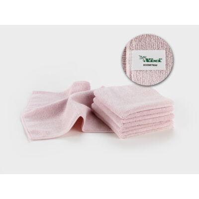 VIXI kozmetikai kendő rózsaszín színben (25x25cm)