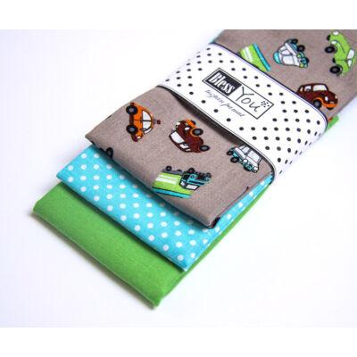 BlessYou 100% pamut textil zsebkendő gyerekeknek (autós)