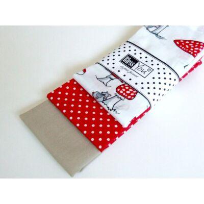BlessYou 100% pamut textil zsebkendő gyerekeknek (gombás)