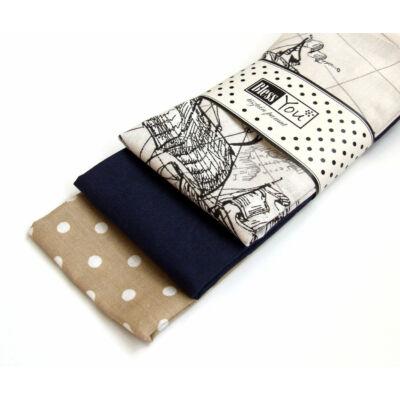 BlessYou 100% pamut textil zsebkendő férfiaknak (világutazó)