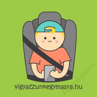 Autómágnes - mobilozó kisfiú (kicsi)